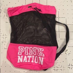 Mesh Victoria Secret Pink Nation Back pack